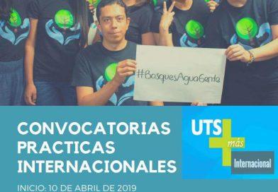 Convocatorias: Movilidad Académica y Práctica Internacional 2019- I