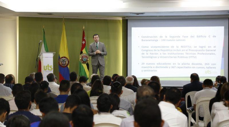 Rector de las UTS presentó el Informe de Rendición de Cuentas