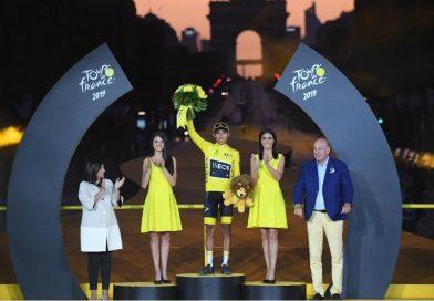 Egan Bernal le regala el primer Tour de Francia a Colombia
