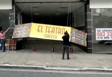 El Teatro Corfescu cierra sus puertas