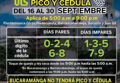 Pico y cédula en Santander