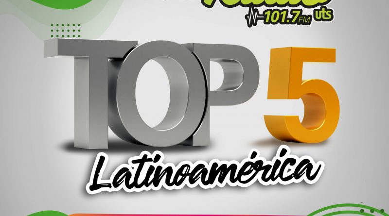 Top 5 Latinoamérica